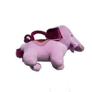 Gymboree Spice Market Plush Elephant Toy Purse